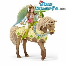 Bayala: Schleich Bayala Surah on horse (70504)