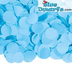 Smurfblauwe confetti (+/- 0,1 kilo)