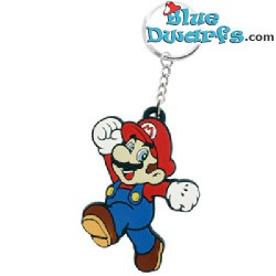 Keyring: Super Mario: Super Mario  (rubber)