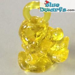 Sonnambulo Piccoli Puffo  *transparante/ giallo*  (+/- 2cm)