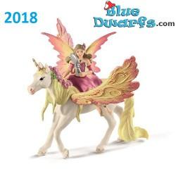 Bayala: Schleich Bayala Feya on horse (70568/ 2018)