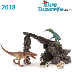 Large Dinosaur set with cave (Schleich/41461/2018)