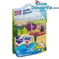 Smurfeette snorkelling Megabloks (10735)