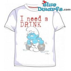 Grognon Schtroumpf T-Shirt (Taille XL)