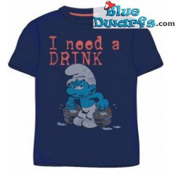 Grouchy smurf T-shirt (Size M)