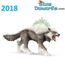 Eldrador 2018: Snow wolf (Schleich 42452, +/- 14x3cm)