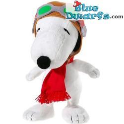 Jouet en peluche: Flying Ace Peanuts/Snoopy (+/-18 cm)