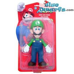 Movable figurine: Super Mario: Luigi (plastic, +/- 22cm)