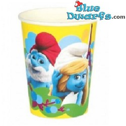 8 x *smurfette/ papa smurf* paper cups
