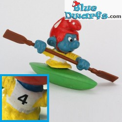 40502: Canoeist Smurf