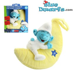 Smurf plush light *Mobile baby smurf* (+/- 17× 27× 10cm)