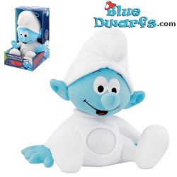 Smurf plush light *Mobile baby smurf* (+/- 30x31x19 cm)