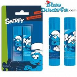 """Glue stick """"Smerfy"""" (2x 9 gram)"""