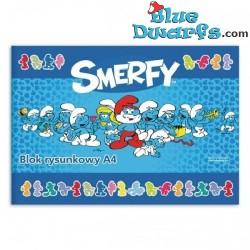 Notebook Smurf *Smerfy* (21x15cm)