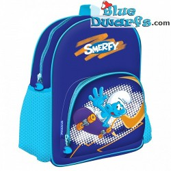"Smurf gym Bag for kids ""smerfy"" (+/- 32 x 26 cm)"