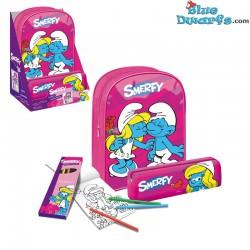 Smurf plastic bag GIFTSET *Smerfy* (34x 22 cm)