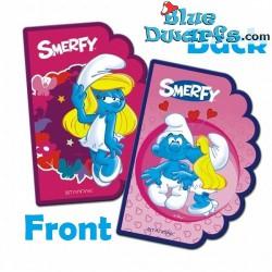 Notitieblokje Smurfin *Smerfy* (15x10cm)