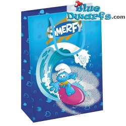Schtroumpf sac en plastique *Smerfy* (23x 17 cm)