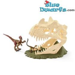 Large skull trap with Velociraptor (Schleich/42348)