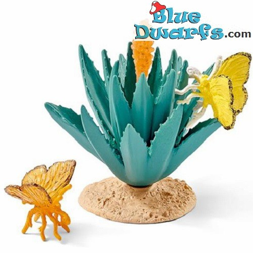 Schleich Wildlife: Fern with butterfly (42252)