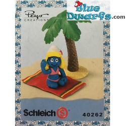 40262: Vakantie Smurfin met palmboom (Supersmurf)