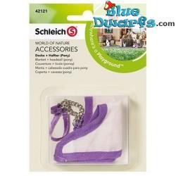 Schleich Horses: Horse blanket and headstall (Schleich 42119)