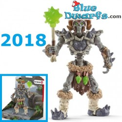 Eldrador 2018: Stone skeleton with weapon (Schleich 42450)