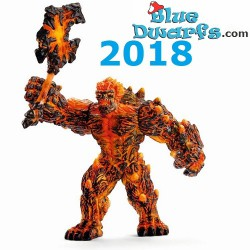 Eldrador 2018: Lava Golem with weapon (Schleich 42447)