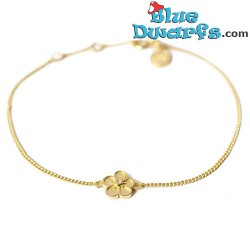 Schtroumpfette Collier jaune  (Diamanti per Tutti +/- 40cm)