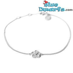 Daisy smurf  bracelet white (Diamanti per Tutti +/- 16cm)