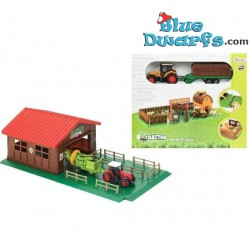Toi-Toys: Tractor with trailer