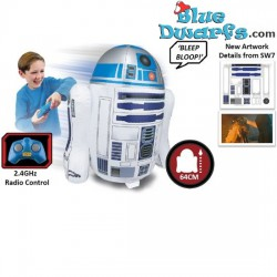 Star Wars: Radiocontrol inflable R2D2 (+/- 64 cm)