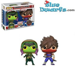 Funko Pop! Camora Vs Strider Marvel 2pack