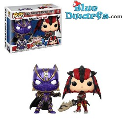Funko Pop! Black Panther Vs Monster Hunter 2pack