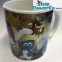 1 x Smurf village smurf mug (32,5 cl)