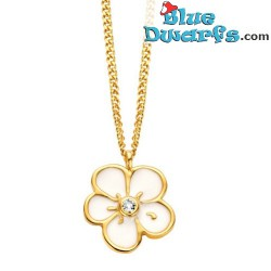 Smurfette necklace yellow Oopsy Daisy  (Diamanti per Tutti +/- 40cm)