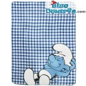 Fleece plaid smurfs (120 x 150 cm)