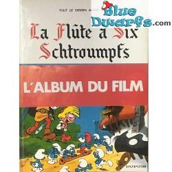 "Smurf comic book ""La Flute a six Schtroumpfs"" Hardcover French language"