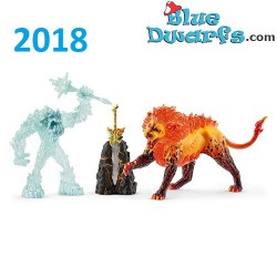 Eldrador 2018: Lava and Icemonster  (Schleich 42455)