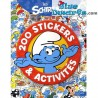 200x Smurf stickers with book (Hachette)
