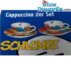 4x Tasse Schtroumpf espresso