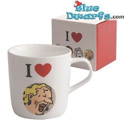 Tintin mug: I Love Castafiore