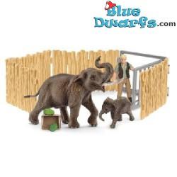 Wildlife Schleich: Elefantes (Schleich 72111)