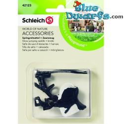 Schleich Horses: Show Jumping saddle + bridle (Schleich 42123)