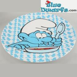 Smurf melamine plate (23 cm)