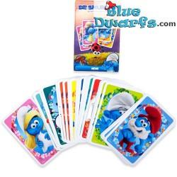 Smurfette game *Memory*  (boardgame)