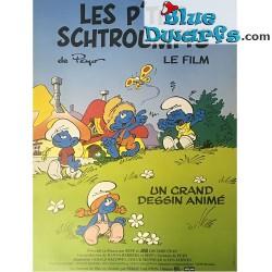 Poster 'Les p'tits schtroumpf ' (54 x 39 cm)