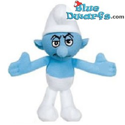 Smurf Plush: Grouchy smurf Mc Donalds 2011 (+/- 10 cm)