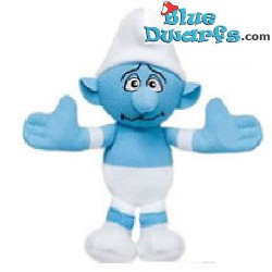 Smurf Plush: Sport smurf Mc Donalds 2011 (+/- 10 cm)