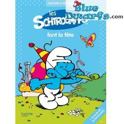 40x Sticker Les schtroumfps (+/-28,5*21cm Hachette)